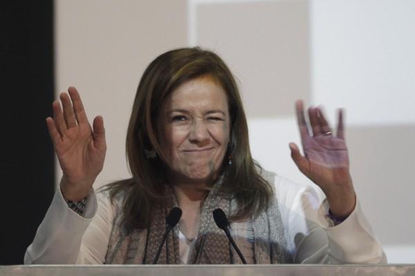 PUEBLA, Pue. 4 de febrero de 2016. Margarita Zavala, aspirante a la presidencia de la República, participó en el foro Retos por México, que organizó en Tecnológico de Monterrey, campus Puebla. //Agencia Enfoque//