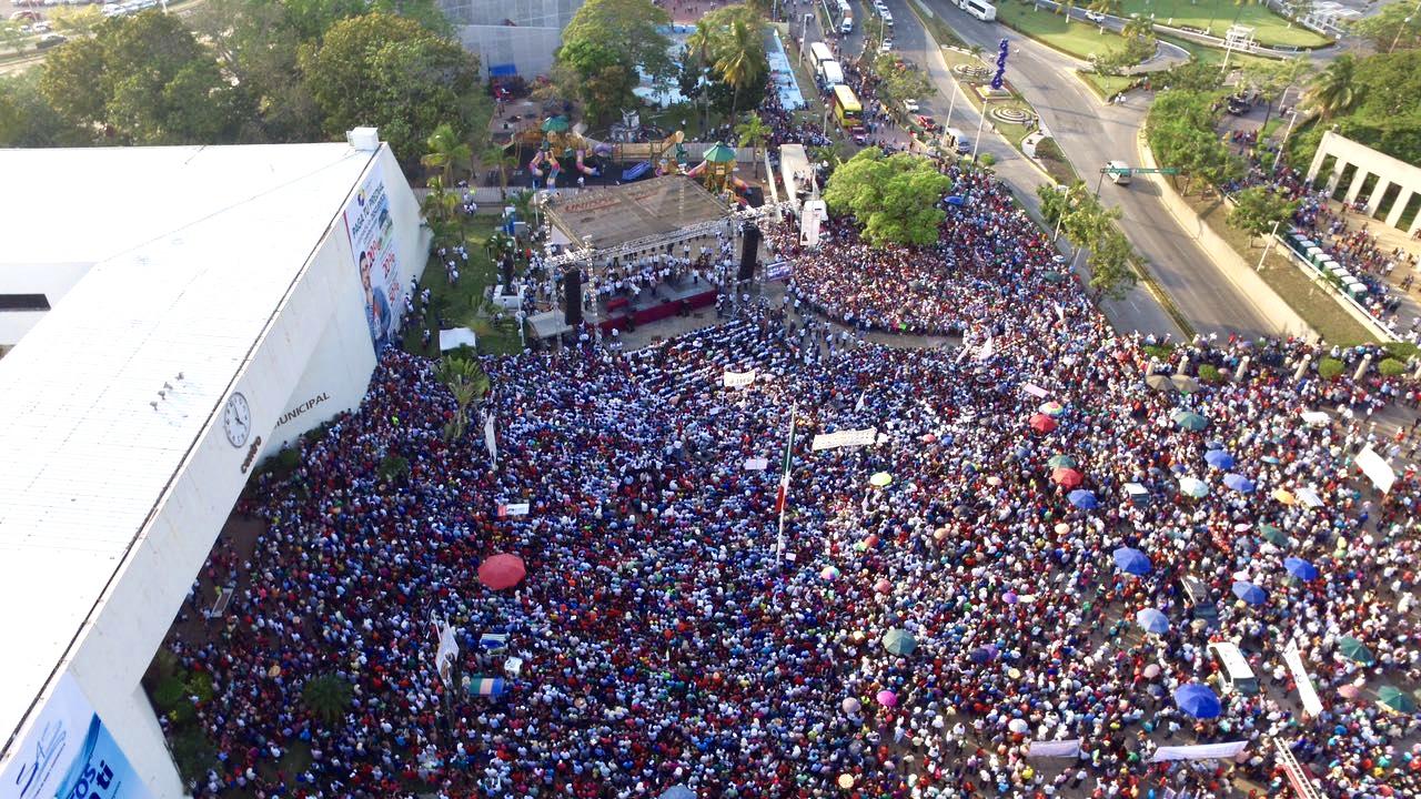 Evento de Obrador